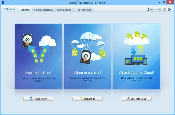 Acronis True Image 2014 Premium 17 Build 6673