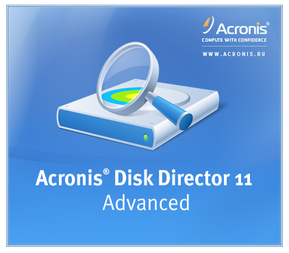 Acronis Disk Director 11.0.12077 Advanced Workstation/Server