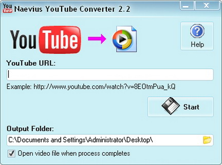 Naevius YouTube Converter 2.3 portable